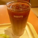 ドトールコーヒーショップ - アイスカフェラテ(S)250円