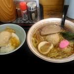恵庭 おとん食堂 - たまご定食810円。