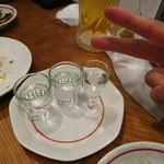 羊香味坊 - 中国白酒飲み比べセットおかわり