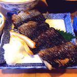 大衆割烹 三州屋 - にしん塩焼定食¥830 2017.3.25