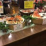 十勝幕別温泉 グランヴィリオホテル - 蟹も食べ放題