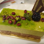 67412965 - ピスタチオのケーキ
