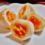 燻製マーケット - ゆで卵の燻製