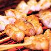 炭火やきとりやきとんQ - 料理写真:Q名物の焼きとんです!豚は大分県産、朝までブーブー言ってた鮮度抜群の豚です。