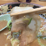宮崎とんこつラーメン 風来軒 - 替玉☆⌒焼豚あっぷd( ̄、  ̄)ノ