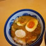 青葉 - 特製つけ麺付け汁