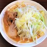 零一弐三 - ミニラーメン+野菜ニンニク