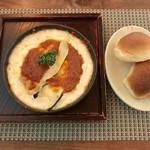 cafe 福座 - シーフードグラタンセット、1490円です。