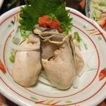 や台ずし - 牡蠣ポン酢