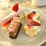 67511766 - 苺モンブラン、苺のショートケーキ