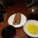 バル  ハルヤ - 赤ワイン&お通し