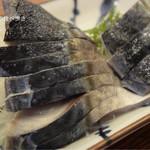 魚三酒場 - 〆さば 390円