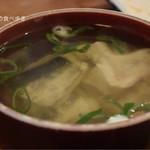 魚三酒場 - ぶりつゆ 100円