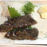 明神丸 - 2017年05月25日  塩たたき特大 1,500円