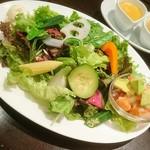 67551953 - ガーデンサラダランチ (スープ サラダ ドリンク付き)1000円