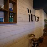 つけ麺専門店 二代目YUTAKA - ヨゴレ感を感じぬ気持ち良い店内
