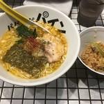 81番 - パイナップルラーメン750円+一口スープ炊きご飯 100円