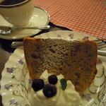 cafe KO-BA - シフォンケーキ