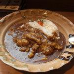 フジヤマプリン - 料理写真:チキンカレー