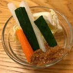 串揚げ 深澤亭 - 野菜スティック