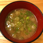 串揚げ 深澤亭 - 味噌汁
