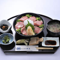 ・特選 頭とろ炙り丼定食(1日限定8食)