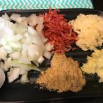 つけ麺 どでん - 料理写真:無料のトッピング