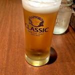 札幌スープカレー傾奇 - ビール