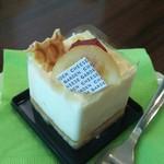 チーズガーデン那須ファクトリー - チーズとはちみつのケーキ(420円)