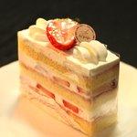patisserie la page - 苺のショートケーキ