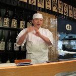 栄寿司 - ご主人