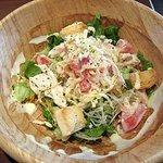 SALAD SHOP LANCIA - チキンのシーザーサラダ(カレーセット)