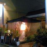 アドリアーノ - 「カキ小屋」の灯り