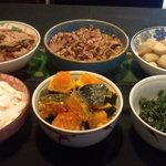 はすみ - 料理写真:人気の日替惣菜です。毎日5・6種類準備しております。
