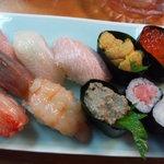 浦島鮨 - 特上にぎり