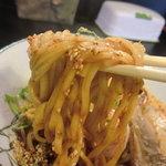 6828701 - 太麺のアップ