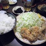 季節料理 西田 - カキフライ定食:750円(サービスランチ価格)