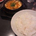 百済カルビ - 純豆腐チゲランチ(500円)