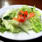 カフェ・レッドブック - ランチのサラダ
