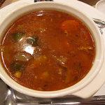 ボナパルト - クスクスと仔羊の煮込み(スープの方)