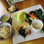 野菜畑 - お野菜プレートランチ
