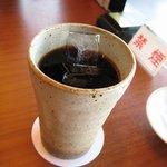 一幸 - 食後にアイスコーヒー♪