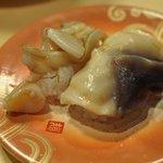 廻転寿司 弁慶 - 活ほっき貝