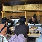 廻転寿司 弁慶 - 店内&メニュー表