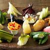 風味や 春 - 料理写真:風味やと言えばやっぱり漬物!彩り豊かな野菜を使った漬物をサラダ感覚で召し上がれ