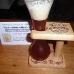 ベースキャンプ - 赤坂で飲んだPauwel Kwakは生樽!!