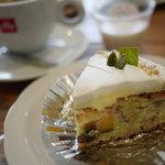 cafe TATI - 【サツマイモとかぼちゃのタルト】¥380