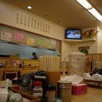 らーめん生島家 - 明るい店内です
