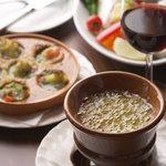 オステリア 谷中のトラモント - バーニャカウダやアツアツのオーブン料理も