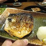 鉄なべ - 塩サバ